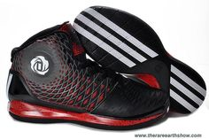 Adidas AdiZero Derrick Rose 3.5 Black White Red Outlet