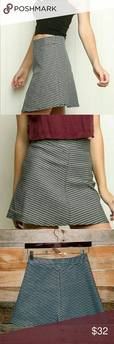 🌟JUST IN🌟BRANDY MELVILLE SKATER SKIRT BRANDY MELVILLE LIKE NEW WORN A FEW TIMES EMILIA PLAID SKIRT SIZE SMALL COLOR BLACK AND WHITE PLAID (TAG TAKEN OUT BECAUSE IT ITCHED) 100% POLYESTER *NO TRADES NO RETURNS* *POSHMARK TAKES 20%-PRICE FIRM UNLESS BUNDLED* Brandy Melville Skirts Circle & Skater