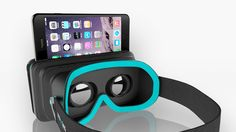 moggles virtual reality headset works with handcontroller