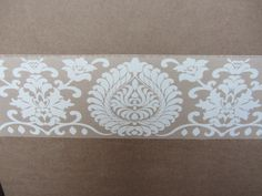 Damask Beige Wallpaper Border Pattern Modern Self Adhesive Decorate Room  30512