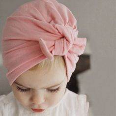 Cheap turban hat, Buy Quality hat style directly from China baby turban hat Suppliers: ON SALE 2016 New newborn photography props Bohemia Style Solid Color Rabbit Ear Heathered Knit baby turban hat with bow Baby Girl Hats, Baby Girl Headbands, Girl With Hat, Baby Bows, Baby Boy Outfits, Baby Girls, Newborn Girls, Girl Toddler, Hot Girls