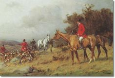 George Wright Equestrian Equine Fine Art Horse Painting - Gone to Ground - Fox Hunting Fox Hunt Painting Hunting Painting, Hunting Art, Fox Hunting, English Country Decor, Country Charm, Grandma Moses, Equestrian Decor, All The Pretty Horses, Equine Art