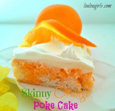 Lou Lou Girls : Skinny Orange Poke Cake