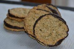 Biscuits aux flocons d'avoine et au chocolat (Chokladflarn comme ceux d'IKEA)