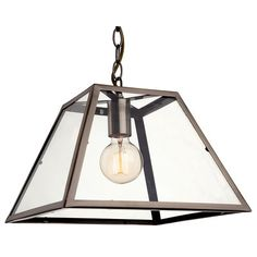 Firstlight Kew 1 Light Ceiling Pendant In Antique Brass With Clear Glass from Lights 4 Living 3 Light Pendant, Ceiling Pendant, Ceiling Lights, Mini Pendant, Led Lantern, Lantern Pendant, Traditional Pendant Lighting, Antique Lighting, Globe Lights