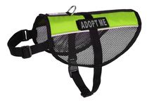 Dogline MaxAire Multi-Purpose Mesh Vest for Dogs and 2 Removable ADOPT ME Patches * Be sure to check out this awesome product.