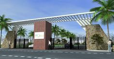 entrance gate designs pictures - Buscar con Google