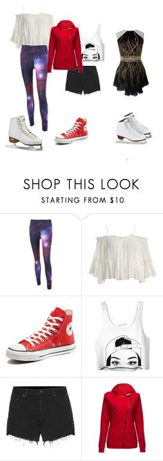 """""""Yuri on ice"""" by gayfangirl-weeb-nerd ❤ liked on Polyvore featuring Alpine, Sans Souci, Converse, rag & bone and Ice-Watch"""