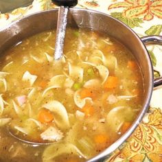 Saturday-After-Thanksgiving Turkey Noodle Soup - - This recipe yields 16 cups – or around a gallon of soup. Of course, you can easily halve the ingredients, which would yield around 8 cups of soup. Few things are more glorious to gaze upon t…. Best Turkey Soup, Turkey Soup From Carcass, Homemade Turkey Soup, Leftover Turkey Soup, Turkey Stew, Turkey Noodle Soup, Turkey Broth, Turkey Leftovers, Slow Cooker Turkey Soup