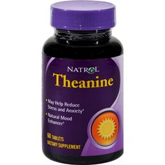 Natrol Theanine - 60 Tablets