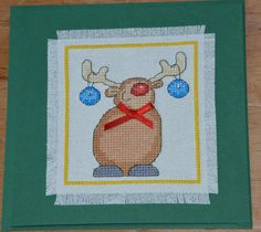 Rudolph with Baubles