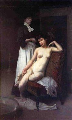 The Toilet, 1905 - Julius LeBlanc Stewart