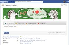 We love Applegate Farms' custom header image that they've added to their Facebook app!