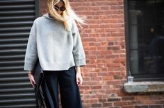 New York Fashion Week Spring 2015 Street Style - nyfw spring 2015 models street style (14)