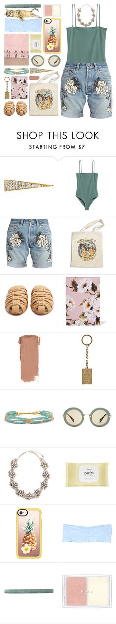 """phuket"" by foundlostme on Polyvore featuring Sydney Evan, H&M, Bliss and Mischief, The Row, Dolce&Gabbana, Alexander McQueen, Chan Luu, Miu Miu, Zone and Casetify"