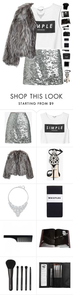 """""""Celebrate Our 10th Polyversary!"""" by genesis129 on Polyvore featuring J.Crew, Monki, Isabel Marant, Dolce&Gabbana, Swarovski, Whistles, Chanel, Imm Living, Taschen and CO"""