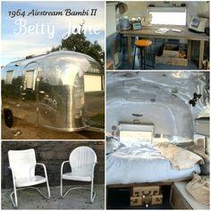 """1964 Airstream Bambi II, """"Betty Jane"""""""