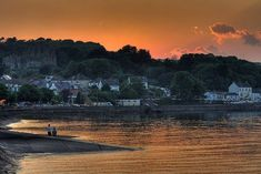 Mumbles Sunset   Flickr - Photo Sharing! Rock Pools, Blackpool, Swansea, Lighthouse, Wales, Seaside, Places To Go, Earth, River