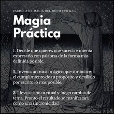 Sigue a @escuelamagiabuho para más!  #magia #magiapractica #hechizo #hechizo #hechizosmagicos #conjuro #conjuros #encantamiento… Magick, Witchcraft, Mystical Animals, Healing Codes, A Kind Of Magic, Spiritual Messages, White Magic, Celtic Symbols, Witch Aesthetic