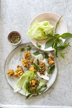 thai corn fritters with cucumber relish and herbs   bill granger