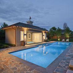 Custom built luxury pool in Brighton VIC 3186, Australia. Expertly designed by Aloha Pools Pty Ltd.