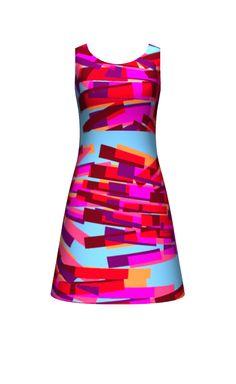Flick Flack dress design by Sarah Bagshaw