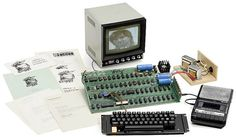 This Is What The First Apple Computer Looked Like