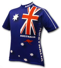 ab2722c58 Australia Breathable Cycling Clothing Quick-Dry Bicycle Jerseys Ropa  Ciclismo Short Sleeve Bike Sportswear For Man
