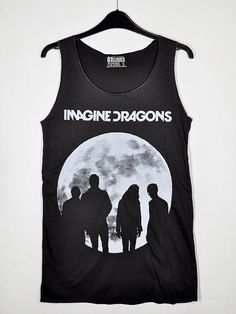 imagine dragons is my #1 favorite band, I love this album art. especially on this shirt ❤️