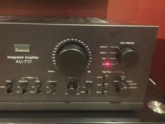 Sansui AU-717 Stereo Amplifier in Electronics, Audio, Amplifiers | eBay