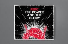 Perc - The Power and the Glory  Design & Art Direction - Jonny Costello