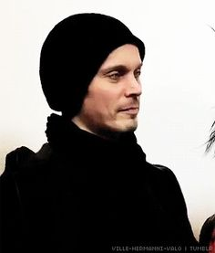 Ville Valo givin that side eye.oh the shade!