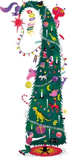 Illustration christmas tree image jens magnusson goran everdahl