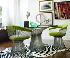 Bestill my heart! My favorite chairs in my favorite color!!!!!