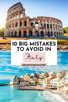 Mistakes To Avoid In Italy | Planning A Trip To Italy | Top tips for Italy Travel | bucket list locations for Italy | prettiest places in Italy | Best please to visit in italy | cutest locations in Italy | whimsical locations in Italy | where to stay in Italy | how to visit Italy | cutest places to see in Italy | where to stay in Italy | things to avoid in Italy | Italy itinerary tips | Best things to do in Italy | What to know when planning a trip to Italy #Italy #ItalyTravel #EuropeTravel European Travel Tips, Europe Travel Guide, Travel Guides, Travel Articles, Travel Advice, Italy Vacation, Italy Travel, Italy Destinations, Things To Do In Italy