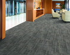 #Carpet #tiles #absorbs And #insulates The #sound In And Between The