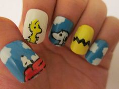 #Snoopy #Nails