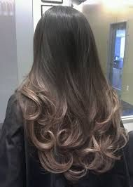 Image result for ash brown ombre short hair