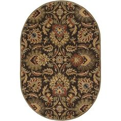 Charlton Home Camden Chocolate Area Rug Rug Size: Square 8'