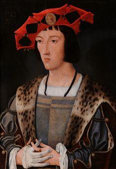 Portrait of a courtier by Jan Mostaert, ca. 1520 (PD-art/old), Muzeum Czartoryskich