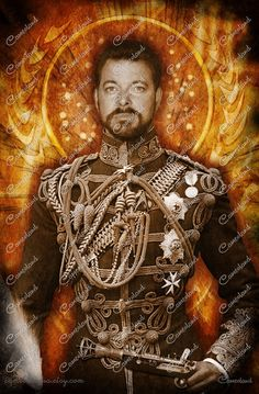 Star trek TNG  Commander William T. Riker por cam.eolandia en Etsy  #startrek #tng #steampunk