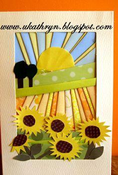 "U Kathryn : Kartki wykonane metodą ""iris folding"" -instrukcja/Iris folding cards… Iris Folding Templates, Iris Paper Folding, Iris Folding Pattern, Paper Folding Techniques, Card Making Techniques, Paper Cards, Folded Cards, Patchwork Cards, J Craft"