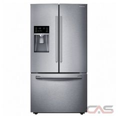 Samsung 22.3 cu. ft. Side by Side Refrigerator in Stainless Steel ...