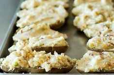 If you already know how to make twice baked potatoes, this post may seem unnecessary. And indeed, I won't be blowing the lid off of the things, as mine are about as basic and straighforward a… I Love Food, Good Food, Yummy Food, Great Recipes, Favorite Recipes, Recipe Ideas, Interesting Recipes, Easy Recipes, Cooking Tips