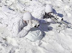 he South Korean troops participate in the endurance exercise in temperature below minus 20 degrees celsius under a scenario to defend the country from any possible attacks from North Korea