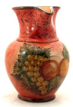 ITALIAN CERAMIC BOTTLES, CRUETS SHAKERS: Italian Ceramics - Deruta