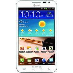Samsung Galaxy Note I717 GSM Phone, White (Unlocked) My new phoneeeeeee :-))))))    12-14-13 Kerri's new phone
