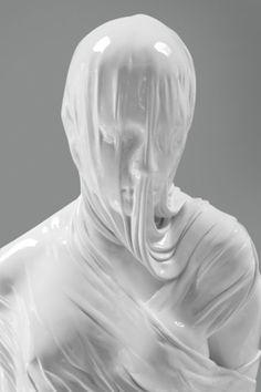 dripping white