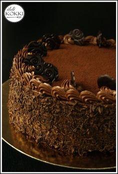 ildiKOKKI: Sütés, főzés, receptek, dekorációs ötletek, kézműves technikák egy helyen! Chocolate Heaven, Chocolate Cake, Cold Desserts, Eat Pray Love, Hungarian Recipes, Buttercream Frosting, Nutella, Cookie Recipes, Deserts