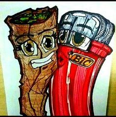 A blunt and a bic ❤
